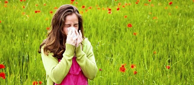 April showers bring allergies.